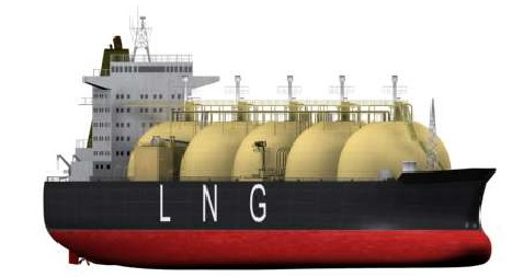LNG carrier moss tanks